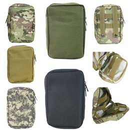 Wholesale Tactical Waist Bag First Aid Kit Medic Pouch Medic Bag Molle Airsoft Painball Combat Gear Multicam