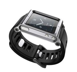 Wholesale New Arrival Watch Band Wrist Strap Fashion Aluminum Cover Case for iPod Nano th G Gen
