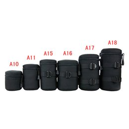 Wholesale Waterproof DSLR SLR Camera Lens Barrel Bag Sleeve Thick Crashproof Pockets kit for Canon for Nikon Camera Lens Barrel High Quality