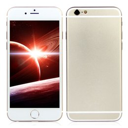 Wholesale Alloy Aluminum Goophone i6s G WCDMA Dual Core MTK6572 MB GB GB GB Android inch qHD Single Nano Sim Card Smartphone
