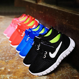 Wholesale Brand children designers shoes Boys And girls breathable textile fastener sneaker outsole fashion princess kid shoes