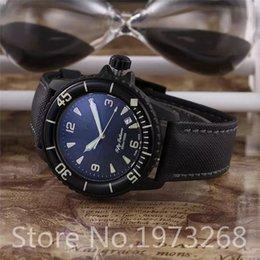 Wholesale 2016 New Luxury Brand Fifty Fathoms Fathoms Rose Gold Case Quartz Gents Watch Best Wristwatches