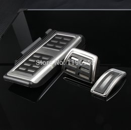 Wholesale Car rest pedal Foot Fuel Brake Clutch Automatic pedals Plate Cover for GOLF7 GTi MK7 Skoda Octavia A7 LHD