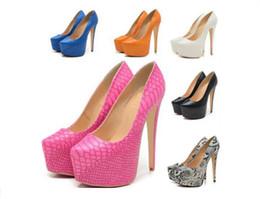New Women's fashion Extreme Platform Pumps Stilettos High Heels Wedding Dress Shoes size;35-42