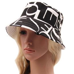 Wholesale Best Deal New Summer Bohemian Style Printing Pattern Women s Sun Hat Bucket Hat pc