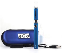 MT3 EVOD Starter Kit eGo Zipper Kits E Cigarette Ecig 650mah 900mah 1100mah EVOD Battery MT3 Atomizer Vape Vaporizer Cartridges Kits