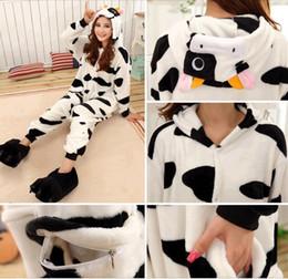 Winter Autumn Cheshire cow Kigurumi Pajamas Animal Suits Cosplay Outfit Adult Garment Cartoon Jumpsuits Unisex Animal Animal Sleepwear