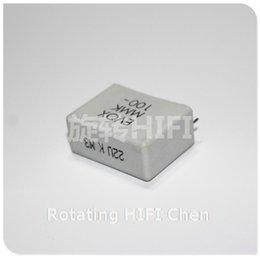 Wholesale For Rifa Evox Mmk u v uf v P mm Hifi Diy Audio Coupling Capacitors Second hand Freeshipping Sale