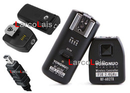 Wholesale 2 Receivers Wireless Flash Trigger Remote Control for Nikon D90 D5000 RF602 RF Shutter Release