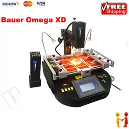 Wholesale BAUER OMEGA XD Hot Air And IR In BGA Rework Station Bauer repair soldering machine