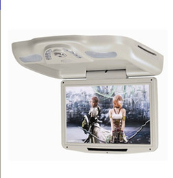 12.1'' Flip down Car DVD Monitor with USB SD IR FM Transmitter Wireless game
