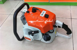 Wholesale MS Robust Performance Gasonline Chainsaw CC KW Strokes Guide Bar Chain Saw Garden Tool Non brand Machine Fast Shipping