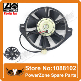Wholesale Dirt Pit Bike Motorcycle ATV Quad ZONGSHEN LIFAN mm Oil Cooler Water Cooler Radiator Electric Cooling Fan