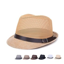 2016 New men and women dance leisure hat linen hat Sun Hat breathable hat peaked cap Fedoras Korean fashion