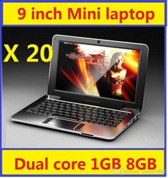 Wholesale 20pcs Mini laptop for kids inch jellybean Android dual core cpu lowest price Netbook cheapest