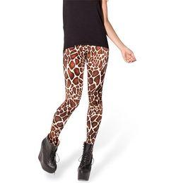 Gros-Space Imprimer Pantalon Legging Fitness BÉBÉ GIRAFFE taille haute LEGGINGS femme Leggings Digital Printing Fitness Leggins à partir de girafe haute fabricateur
