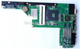 Wholesale 599414 for HP pavilion DV3 DV3 laptop motherboard with intel hm55 chipset With ATI HD Graphics