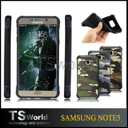 Wholesale luxury army camo camouflage heavy duty rubber hybird back cover silicone soft case For Samsung S6 s6edge plus S7 S7 edge note5 pp bag