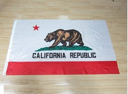 Wholesale State of California Flags x5 Polyester High Quality California State Flags with metal grommets American Flags