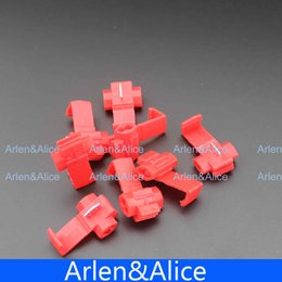 Wholesale 100 Wire terminals quick wiring connector cable clamp AWG