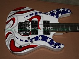 Guitar factory from China free shipping White Star Jackson rosewood Fingerboard Electric Guitar