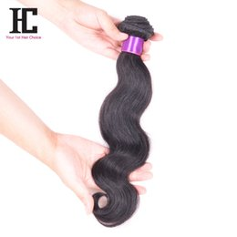 HC Hair Products Body Wave Brésilien / Péruvien / Malaisien / Indien Cheveux 100% Unprocessed Human Bundles Brazilian Human Hair Weave 8-30 inch à partir de 14 pouces brazilian vague de corps fabricateur