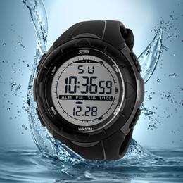 Wholesale 2016 New Skmei Brand Men LED Digital Military Watch M Dive Swim Dress Sports Watches Fashion Outdoor Wristwatches