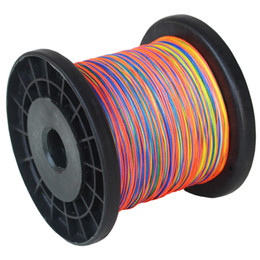 8 Strands PE braided Fishing Line 500m Multicolor Multifilament Fishing Line 546YARDS 20LB 30LB 40LB 55LB 70LB 85LB 185LB