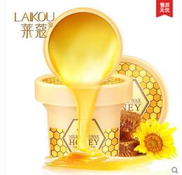 Wholesale paraffin bath parafina hand wax treatment honey cream hand paraffin mask Fade Out Fine Lines Moisturizing Paraffin Bath For Hand