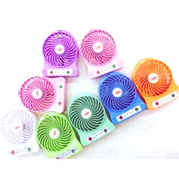 Free DHL F95B Portable Multifunctional Fan Rechargeable Battery Operated LED Lamp for Indoor Outdoor Kids Table 18650 Battery