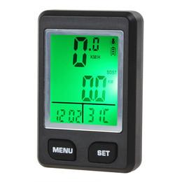 Évaluation des ordinateurs en Ligne-surveille 2016 Cycle LCD New Multfunction Cycle Computer moniteur de fréquence cardiaque numérique Bicycle Bike Speedometer Computer CYC_348
