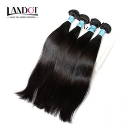 3Pcs Lot 8-30Inch Indian Virgin Hair Straight Grade 7A Unprocessed Raw Indian Human Hair Weave Bundles Natural Color Extensions Double Wefts