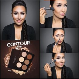 Wholesale New Makeup Face A branded CONTOUR KIT Light to Medium Medium to Tan Bronzers Highlighters