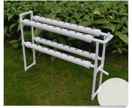 Wholesale hydroponics system watering kit layers tubes holes vegetable equipment box bowl aircraft machine size cm