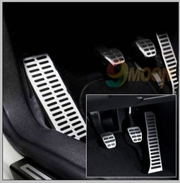 Wholesale-Stainless Steel car pedal for  vw Golf 5 6 octavia Jetta MK6 Scirocco CC Passat B6 B7 TIGUAN Toureg