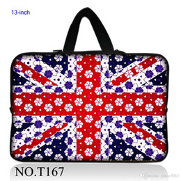 Wholesale Snow UK Flag Soft Carry Sleeve Case Bag Pouch For quot quot Macbook Pro Air Netbook Laptop