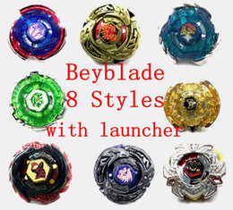 480pcs lot Rapidity Beyblade Metal Fusion with Launcher 8 models