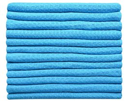 Wholesale 50PCS cmx33cm Microfiber Waffle Weave Towels Microfiber Facial Cloths Household Cleaning Towels Handtowel Dishcloths Dry Fast