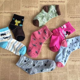 Wholesale Cartoon Socks For Kids Fashion Korean Boys Girls Ankle Socks Autumn Winter Best Socks Baby Socks Children Clothes Kids Clothing C15337