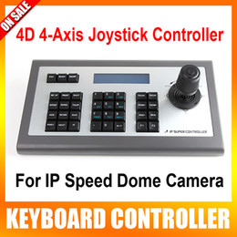 Wholesale IP RJ45 Rs485 D Axis Joystick CCTV PTZ Remote Control Keyboard Support Network Speed Cameras Hikvision Dahua XM Aipstar