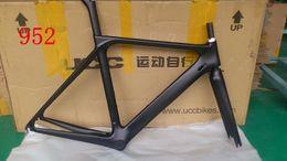 Wholesale 2015 new arrial DIY logo road bike carbon frame T1000 UD finish orange color bicycle framework cm carbon frame