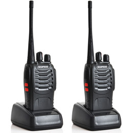 Wholesale BAOFENG BF S Handheld Walkie Talkie UHF MHz W CH Single Band Portable CB RadioTwo Way Radio A0784A