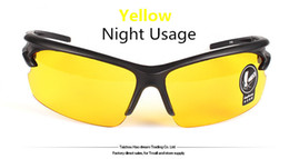 Wholesale-Hottest Men and Women Fashion Sunglasses for day and night driving,cycling,sport night version goggles sunglasses on sale