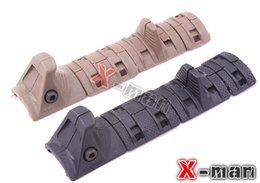 Wholesale Four piece Tactical Hand Stop Kit serves for airsoft Modular Full Profile Picatinny Rail Cover Polymer grip