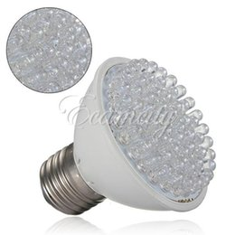 Wholesale Smd 3528 Growing Plants - 4 Pcs 220V 3W 60 LEDS CE ROSH Certificated Grow Light Bulb Flowering Plant Hydroponic system Garden Lamp E27 45 Red 15 Blue order<$18no trac
