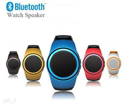B20 Portable Hi-Fi Bluetooth Wireless Speakers watch style Subwoofer Stereo universal Mini speaker support TF card slot HiFi
