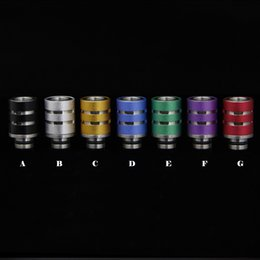 Wholesale vape drip tips Stainless Steel supplier of steel pipe aluminum disposable drip tip covers in China