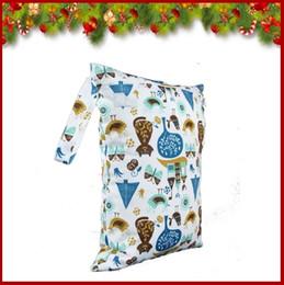 Bébé tissu réutilisable couche nappy en Ligne-40 Styles Hot Baby Protable Nappy réutilisable lavable humide sec Tissu Zipper étanche sac à couches Accessoires Livraison gratuite A-10