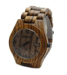 Wholesale price of natural wood green ebony watches handmade watches fashion men wooden watch watch
