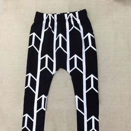 Wholesale 2016 Baby Boy Girl Arrows Harem Pants Toddler Kids SweatPants Joggers Elastic Bottoms
